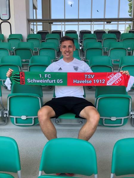 Relegationsschal 1.FC Schweinfurt 1905 - TSV Havelse 1912