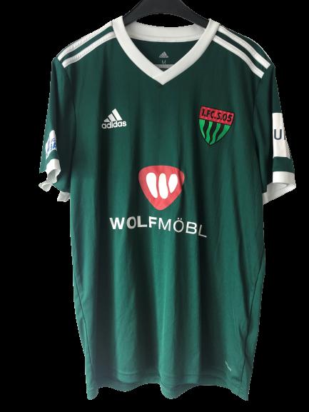 Matchworn Trikot Florian Pieper grün