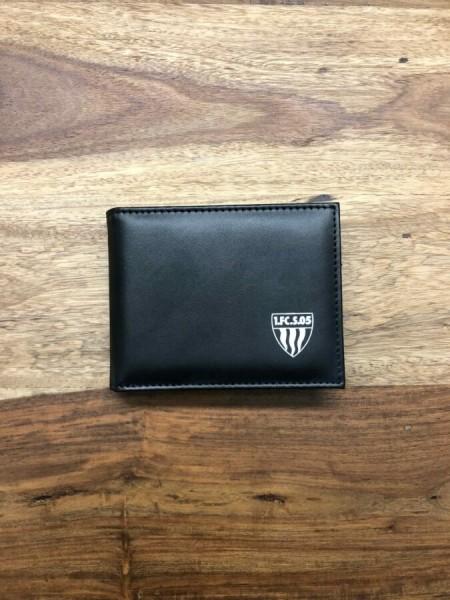 Geldbeutel mit weißem Logo
